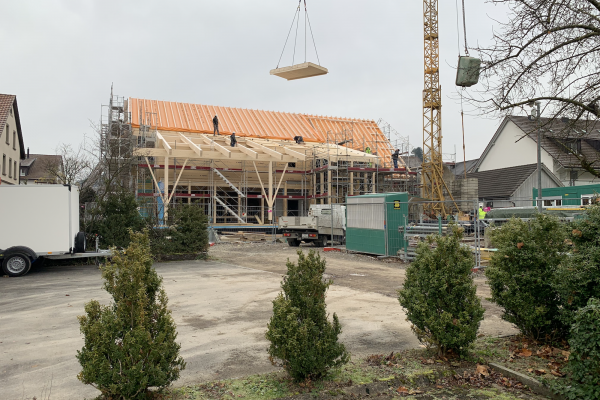 Dorfschüür Würenlingen - Baustelle Dezember 2019