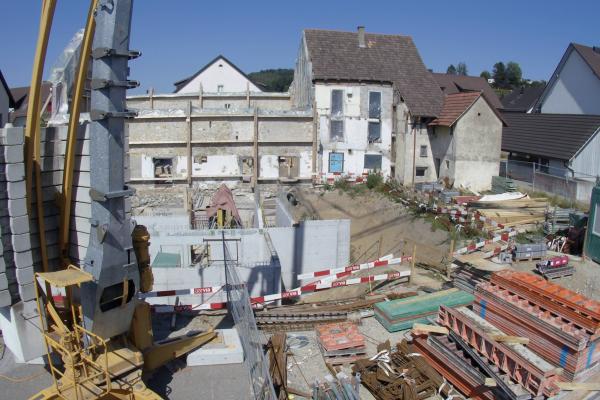 Dorfschüür Würenlingen - Baustelle Juli 2019