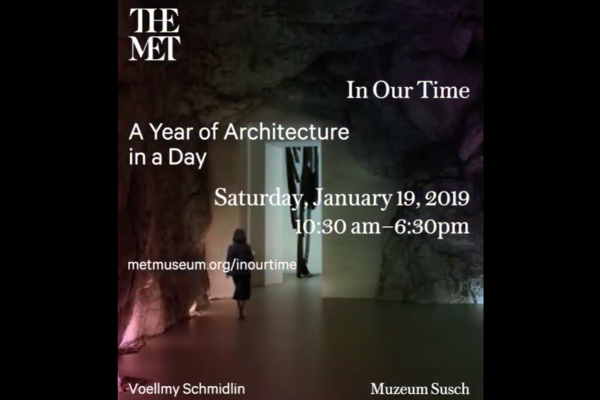 CLIK THE LINK - Museum Susch at The Metropolitan Museum of Art, New York - Januar 2019