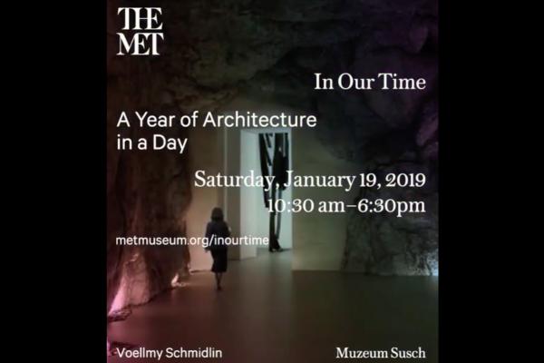 CLIK THE LINK - Museum Susch at The Metropolitan Museum of Art, New York - Januar 2019