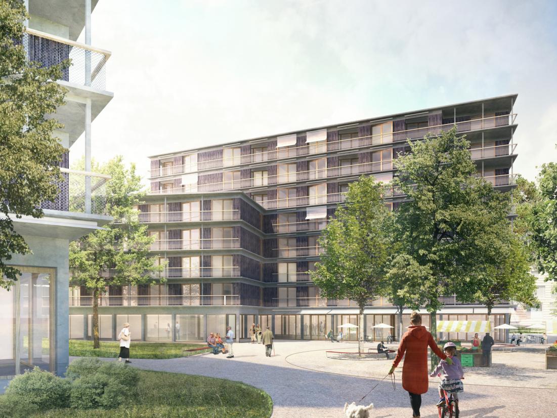 Neubau Wohn- und Alterszentrum Sihlsana